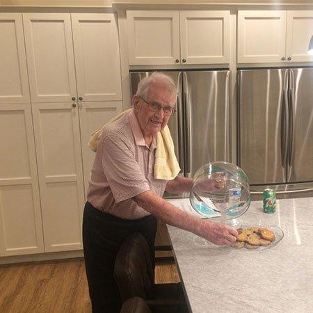 Seniors love cookies