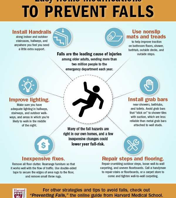 6 Tips on How to Avoid Falls among Seniors