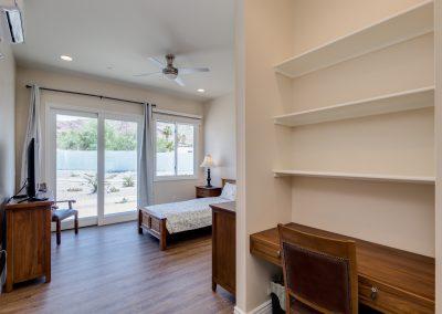 Camelback view bedroom Vista Living Phoenix Assisted Living Home