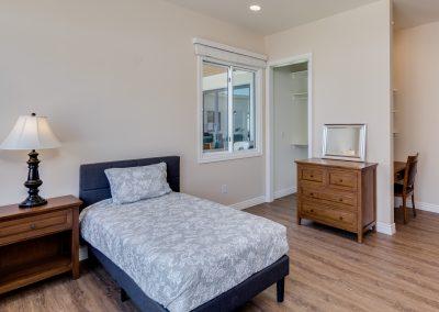 Camelback View bedroom Vista Living Assisted Living Phoenix Arizona
