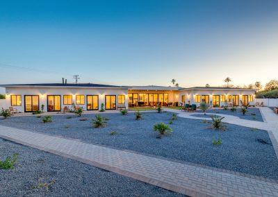 Camelback View outside Vista Living Assisted Living Home Phoenix Arizona