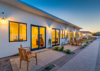 Camelback view assisted living home outdoor area Phoenix Arizona
