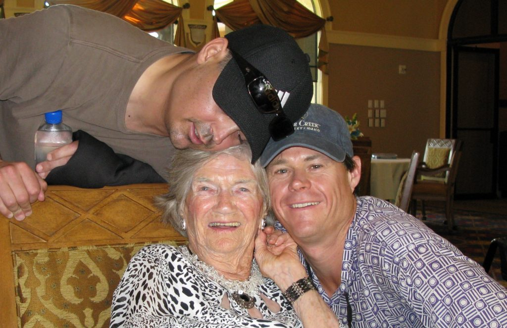 Grammy's 100th w/ Brett's brother who passed  away in 2017 after a long battle with lupus